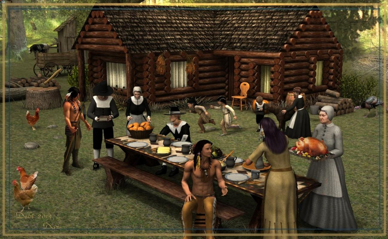 Thanksgiving by dhouck
