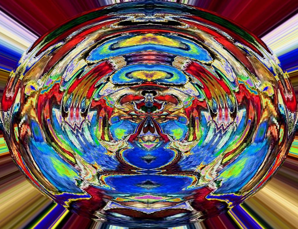 An Evolving Enigma  Variation 4 by Jay-el-Jay