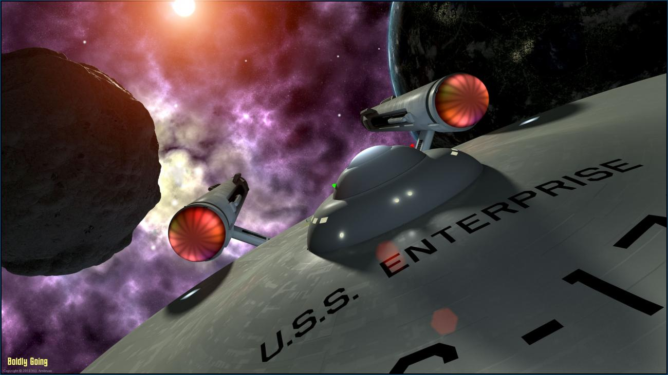 Boldly Going by theSea