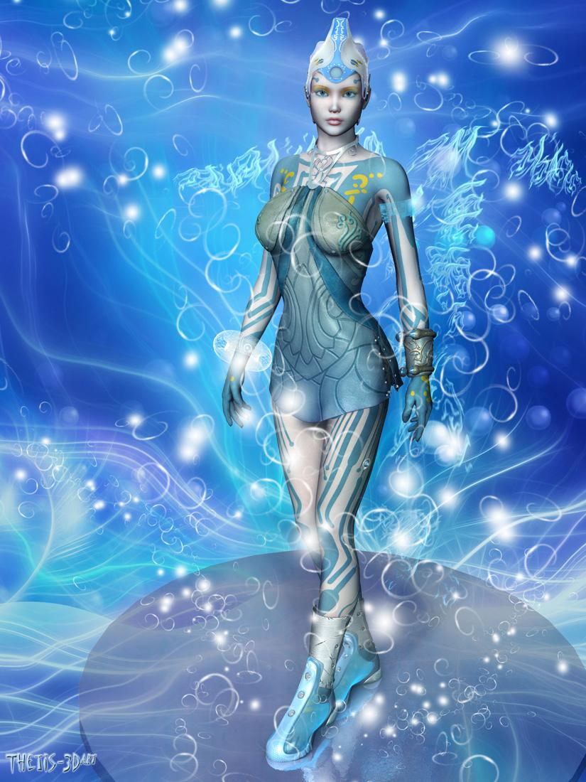 Blue Mood by Thetis