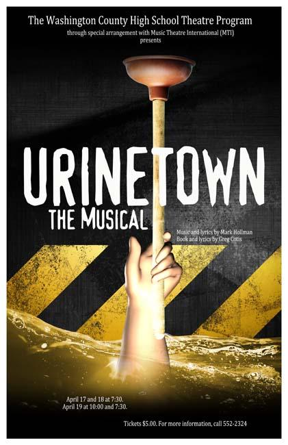 Urinetown the Musical — Poster by SeanMartin