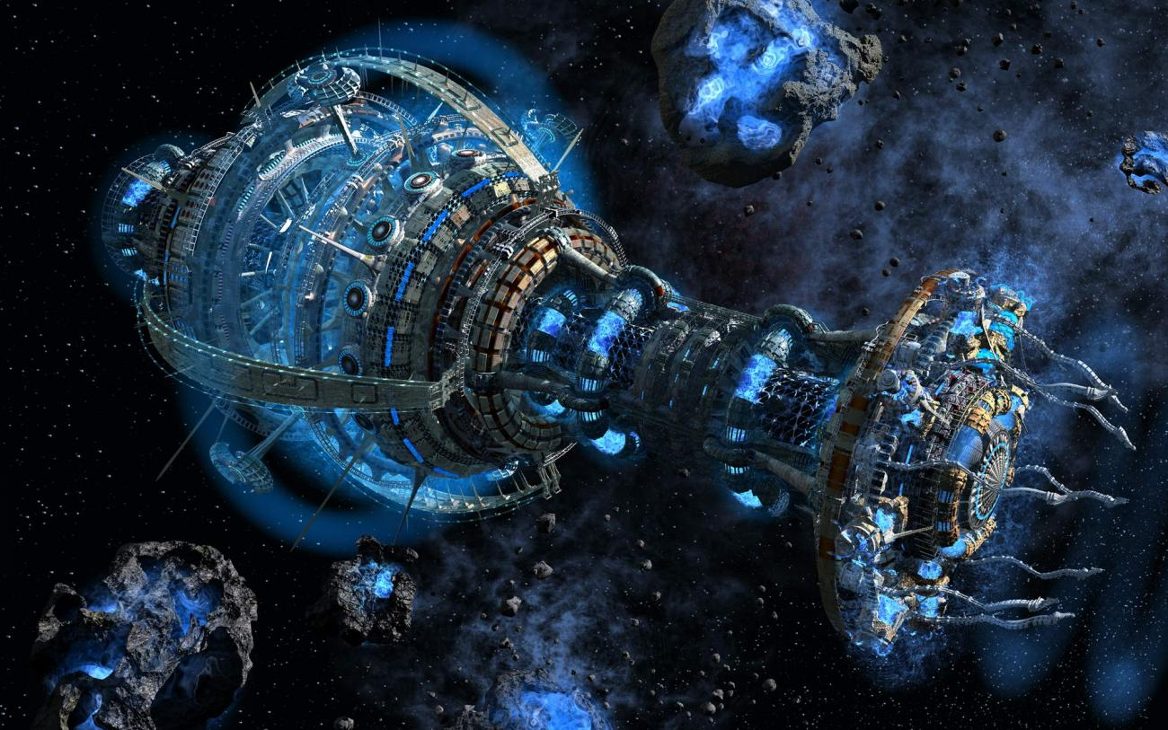The Asteroid Belt by NickPL