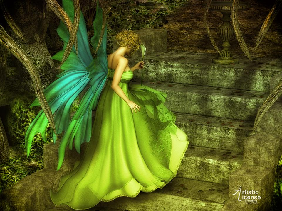 The Fairy Queen (Wolfie) by Bossie_Boots