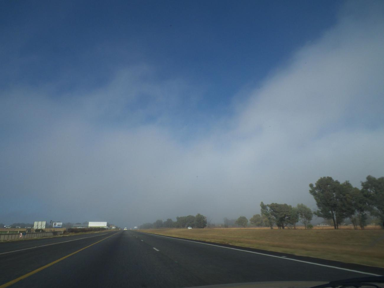 Mist on the road. by kgb224