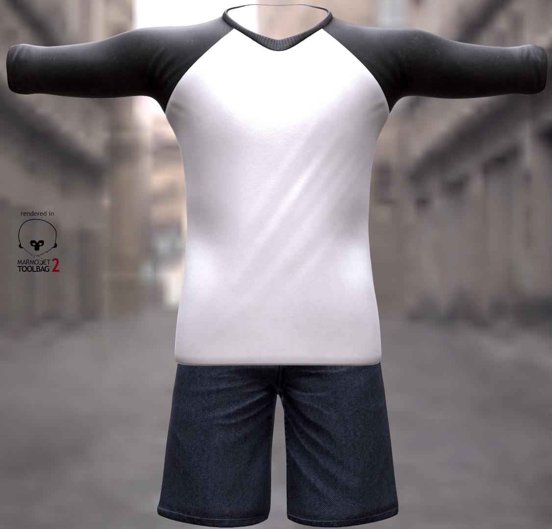 Clothing Work by Teyon