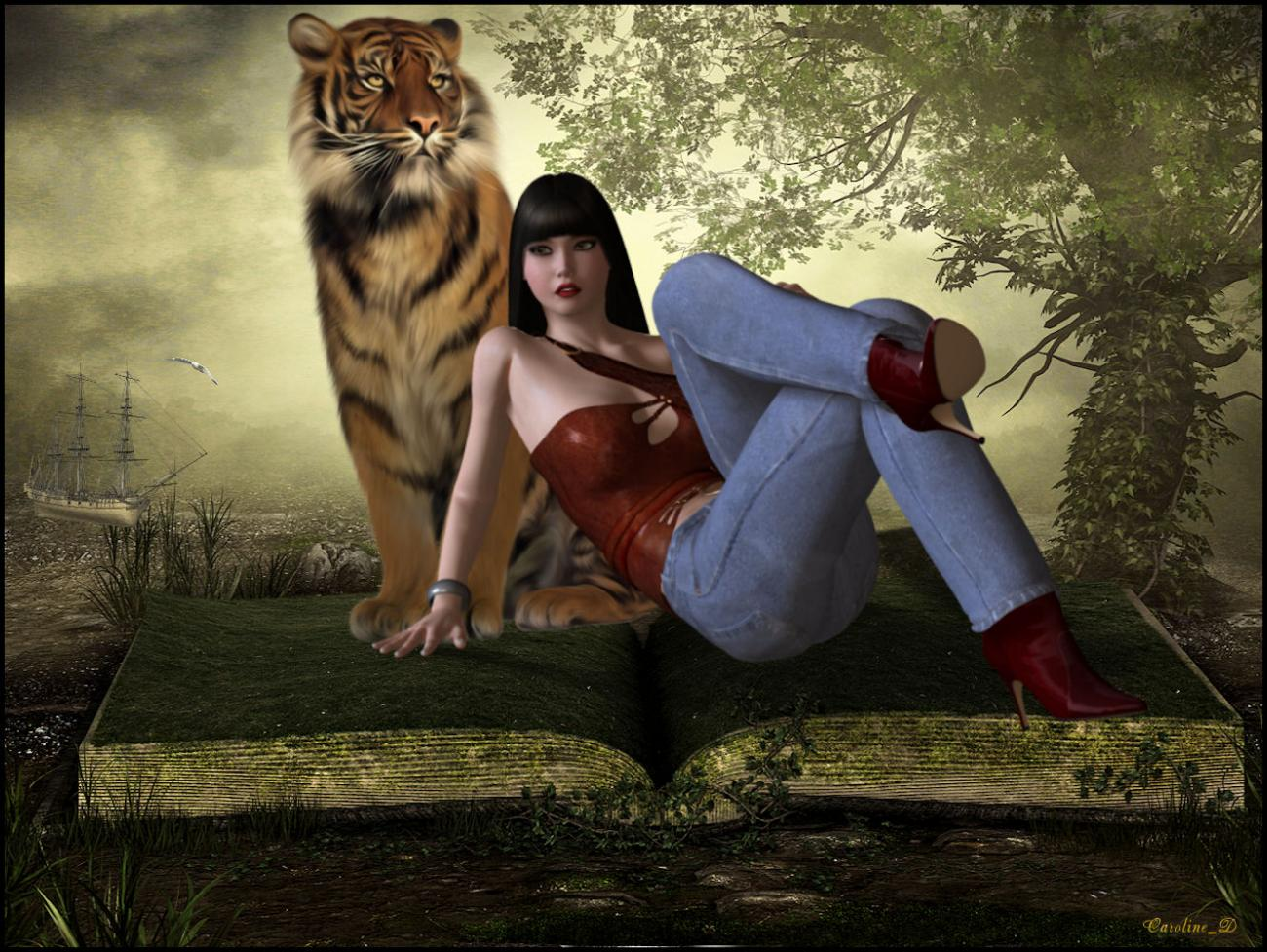 The tiger and the lady