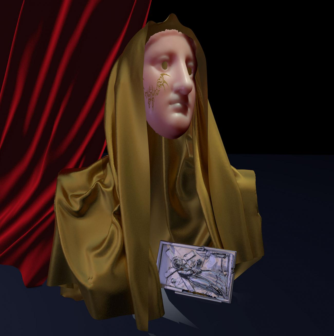 Wax Madonna by Eremes