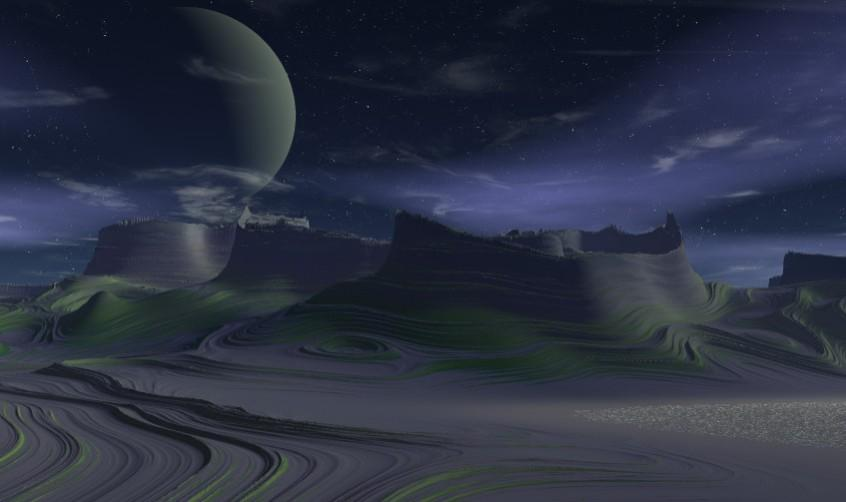 A Distant World by 3DMISFIT