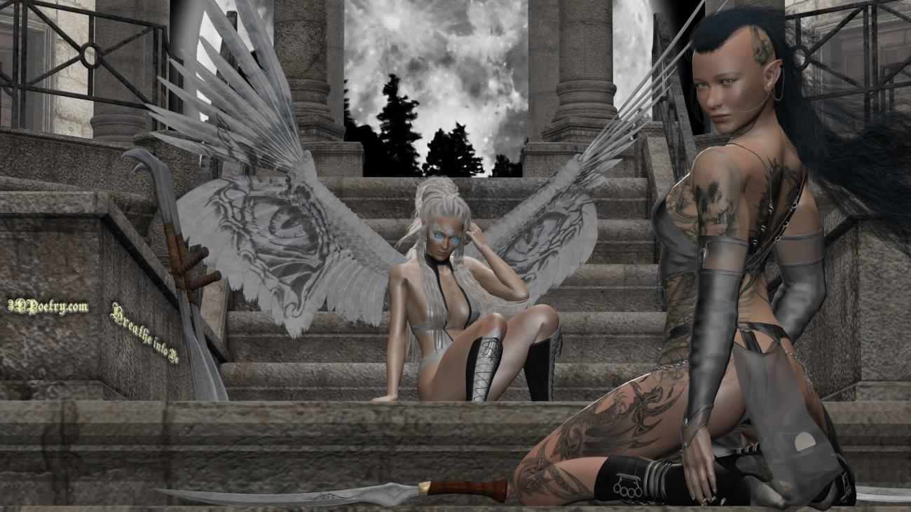 Breathe Into Me (2) by 3dpoetry