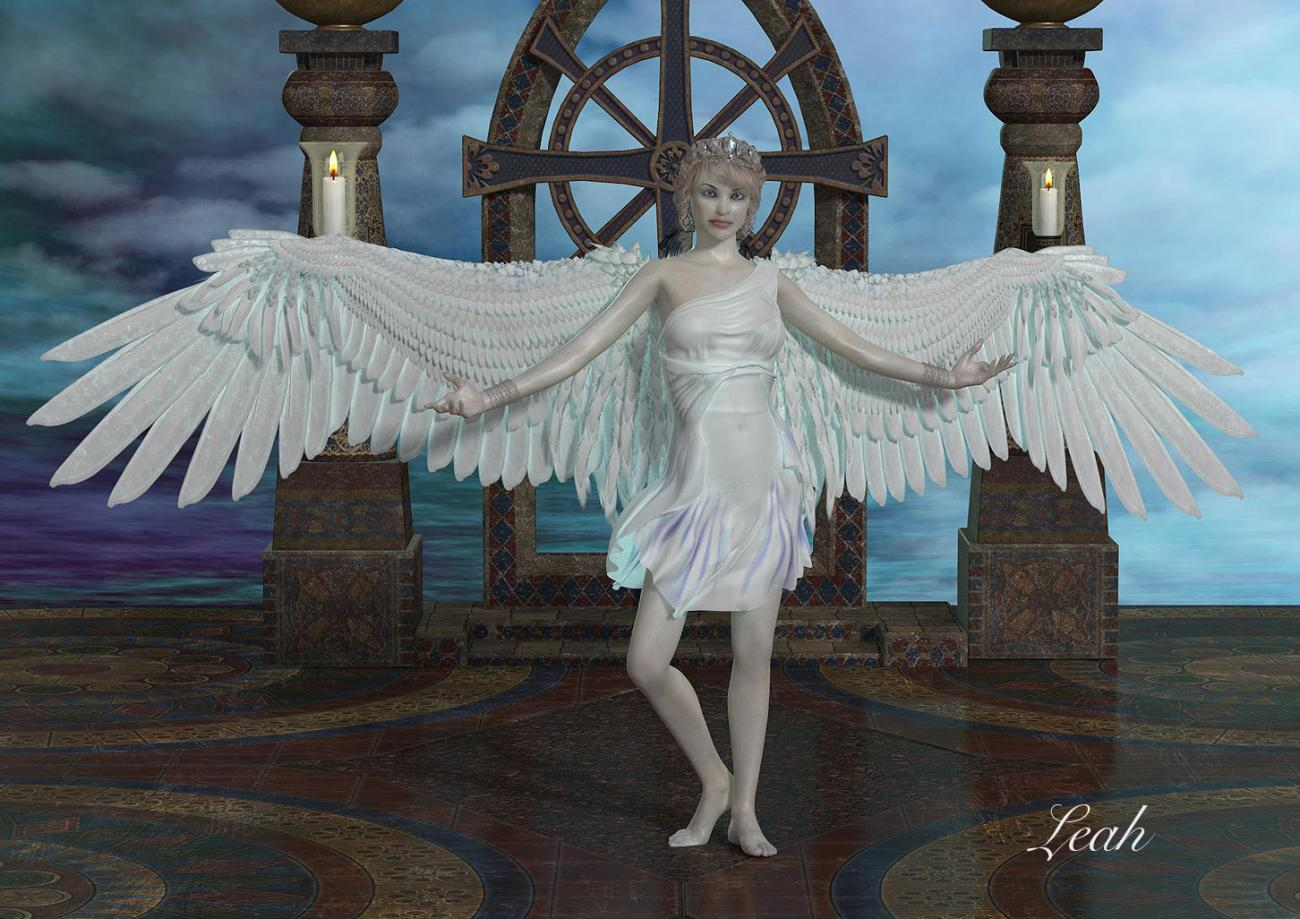 Sky Angel for Cousin Greg by Turtle