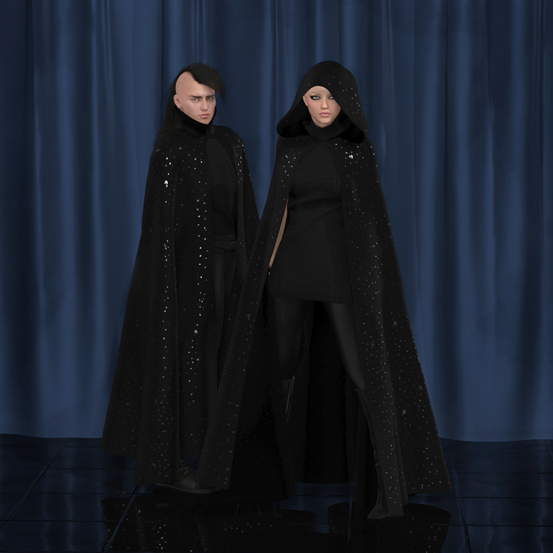 Dark & Moody for Dynamic Cloak by Frequency3D