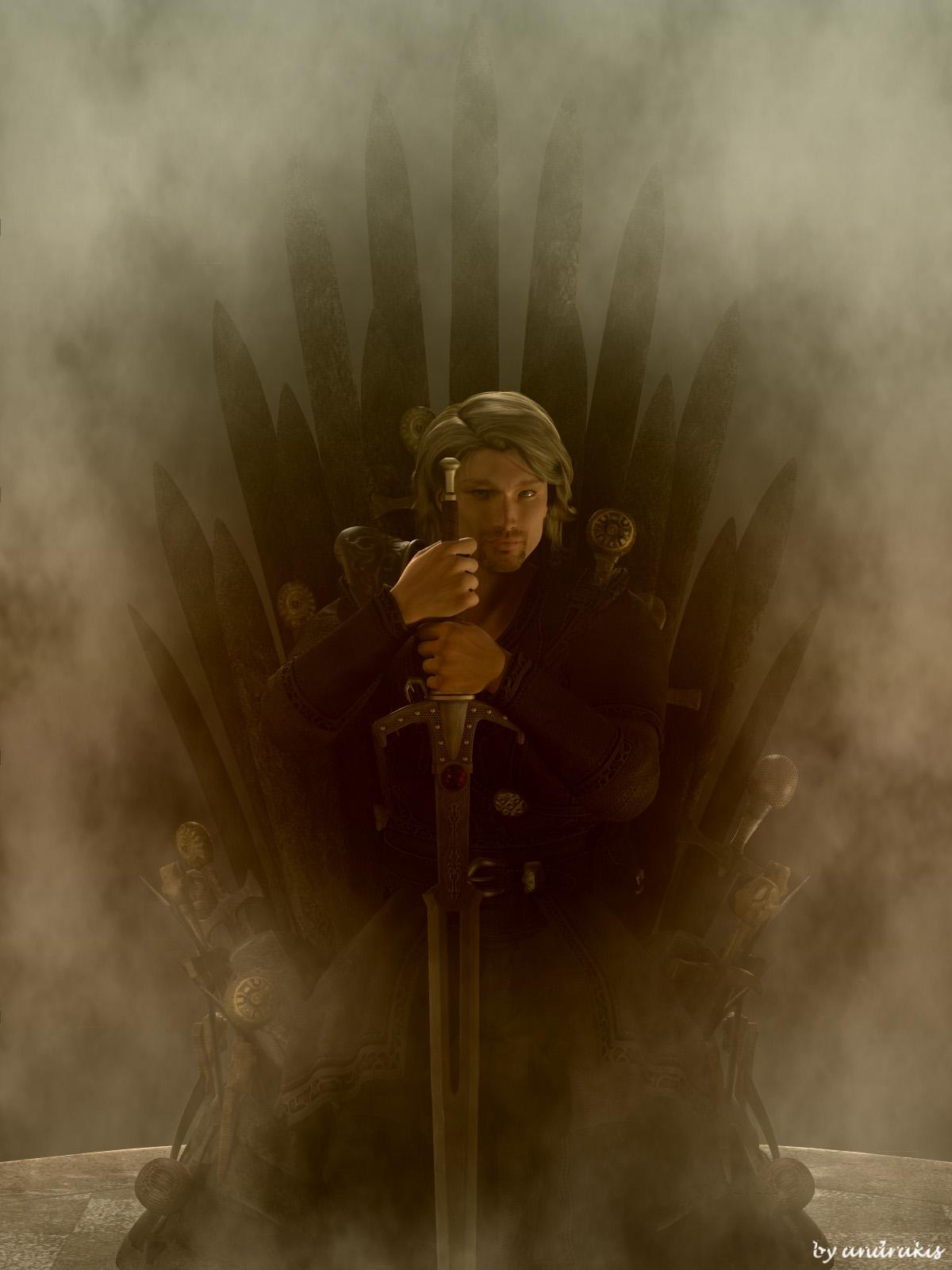The Iron Throne by andrakis
