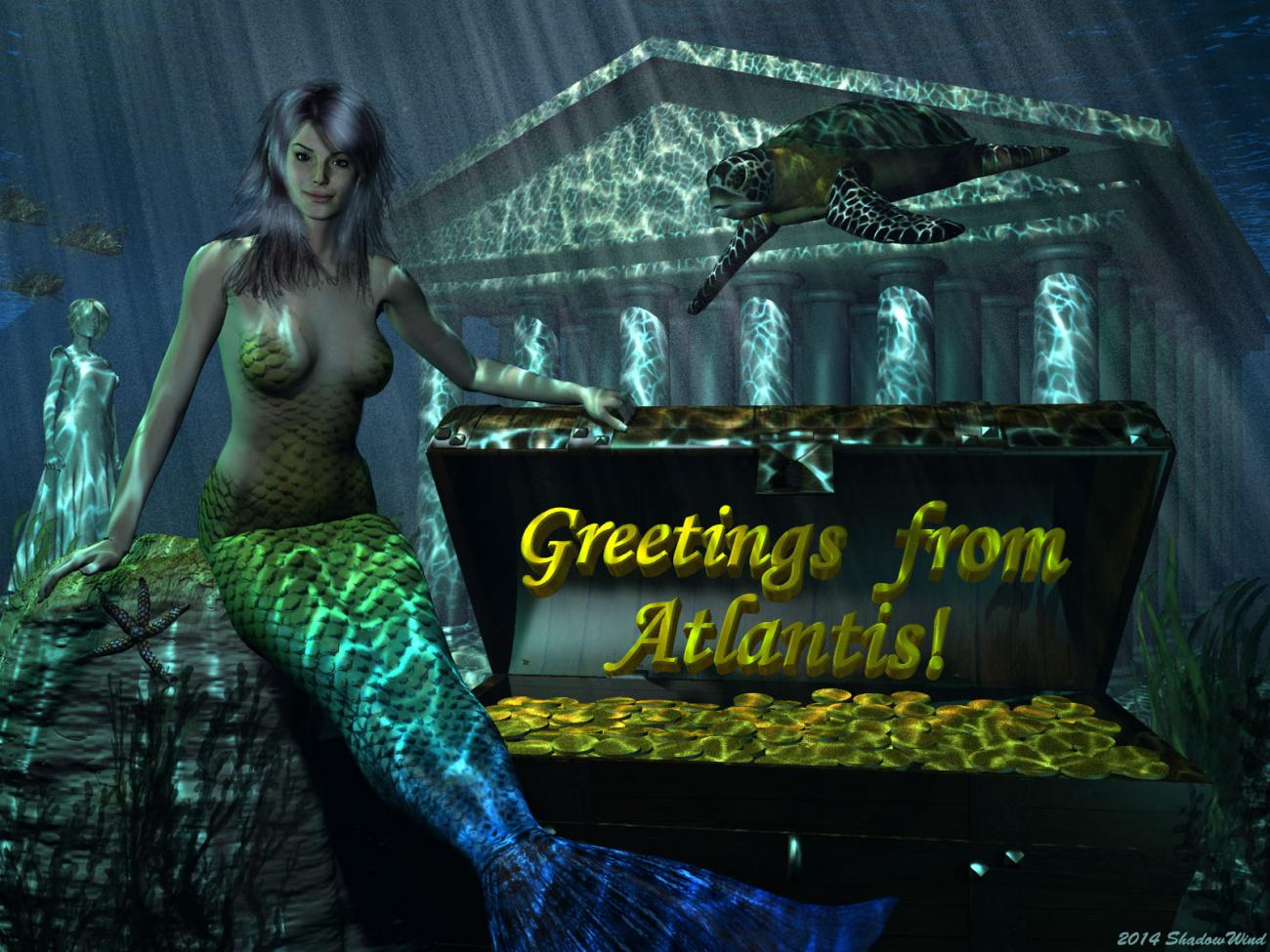 Postcards from the Lost City by ShadowWind