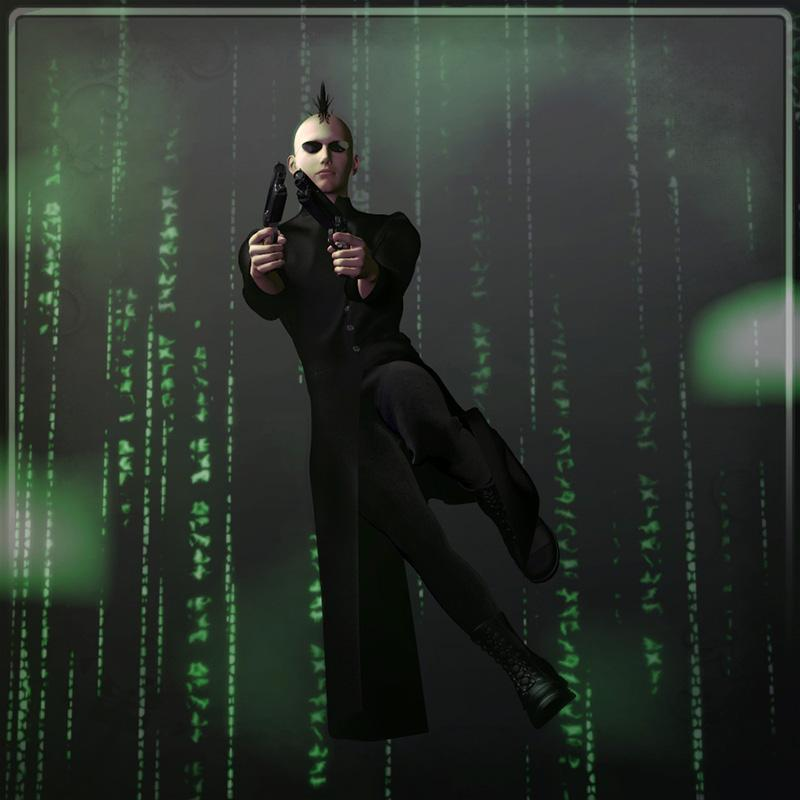 Dynamic Mainframe Coat by Frequency3D
