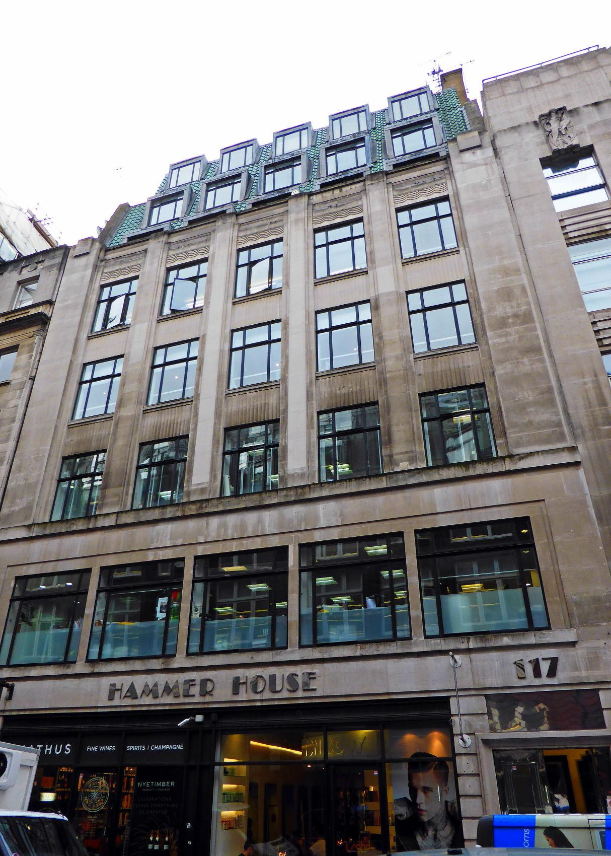 Hammer House 113-117 Wardour Street...(for Mike) by debbielove