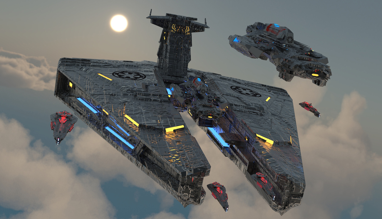 Imperial Carrier by billiest