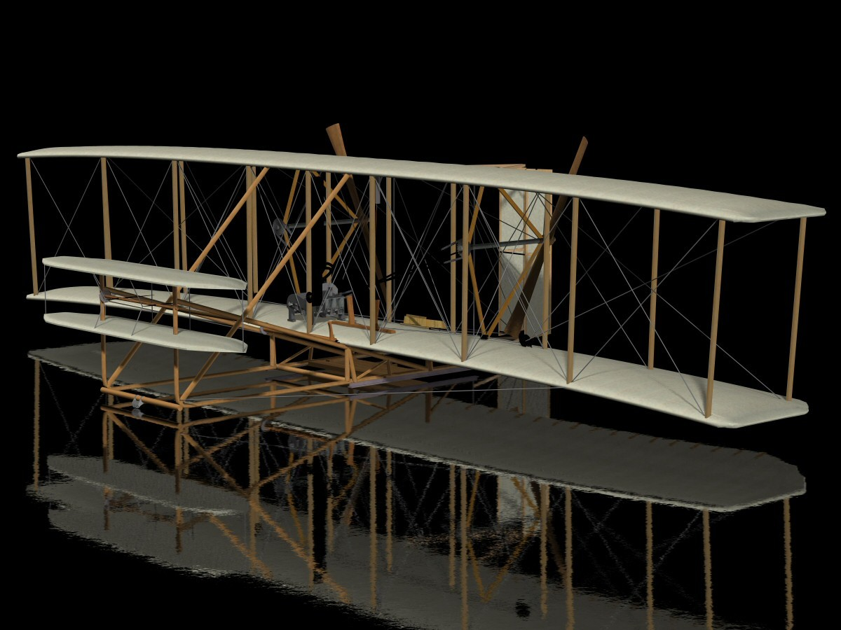Wright Flyer by BeyondVR
