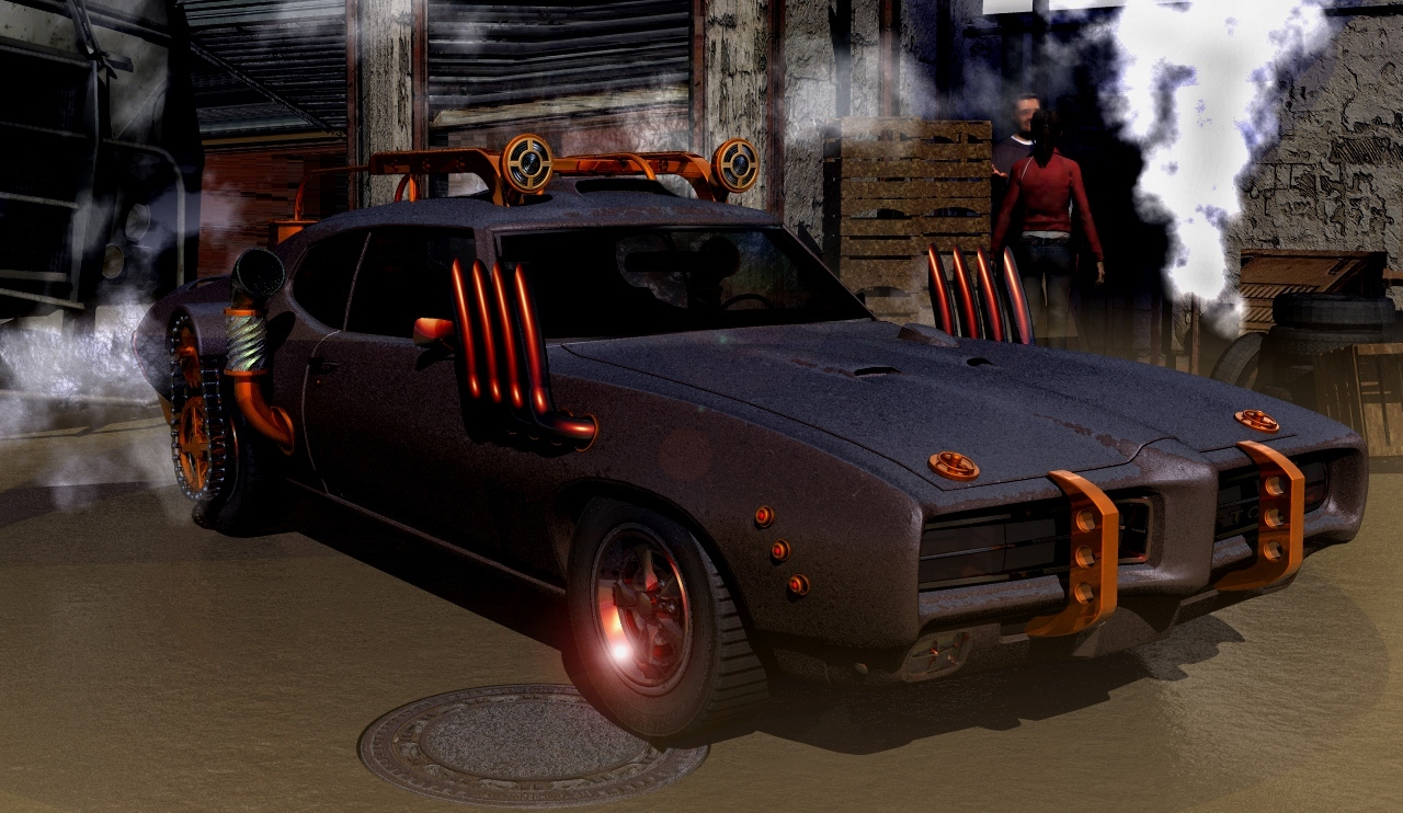 Steampunk GTO 400 by ansgar2