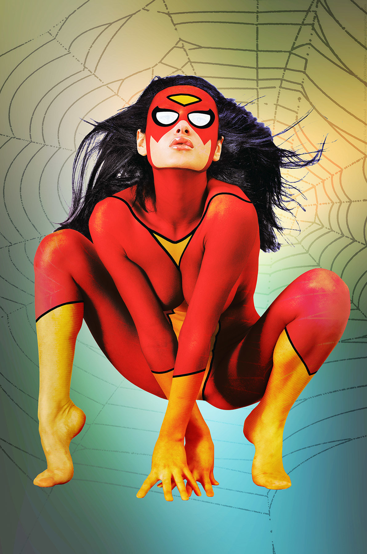 Spider-Woman by Josel007