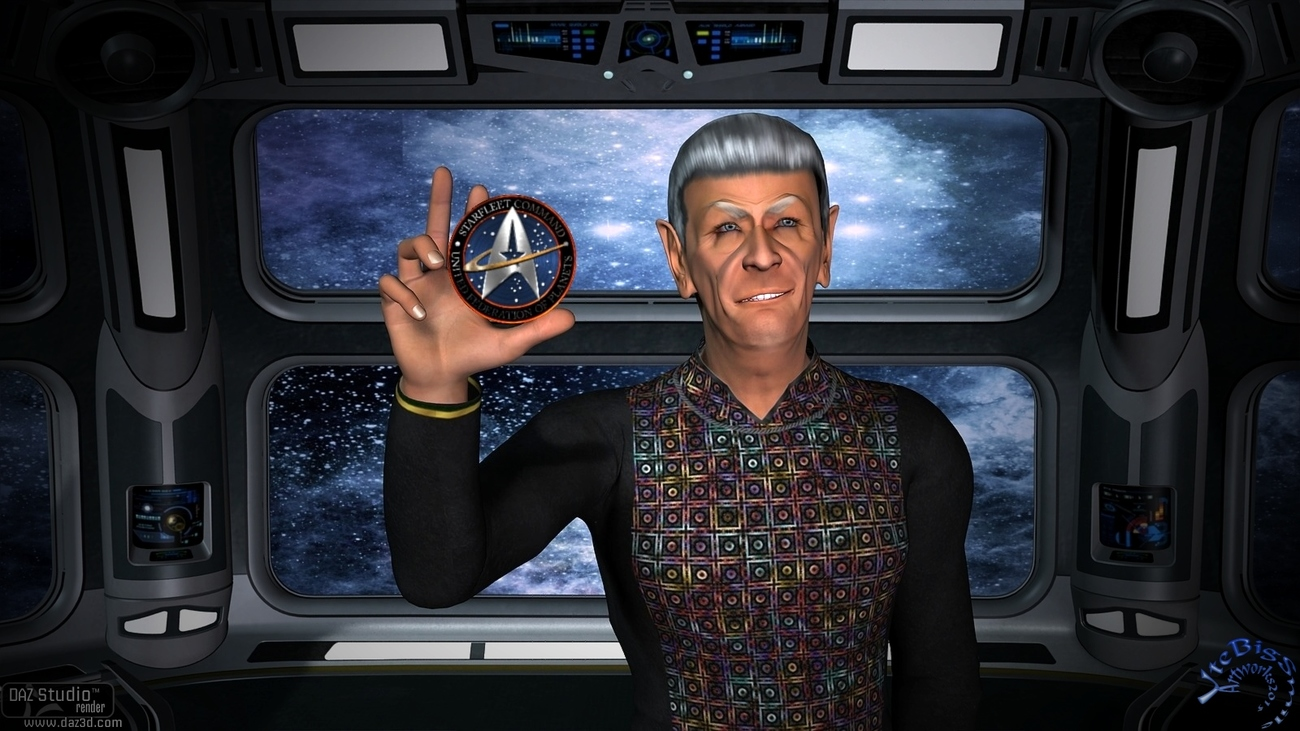 Mr.Spock - Thank's - You have been Fascinating! by UteBigSmile