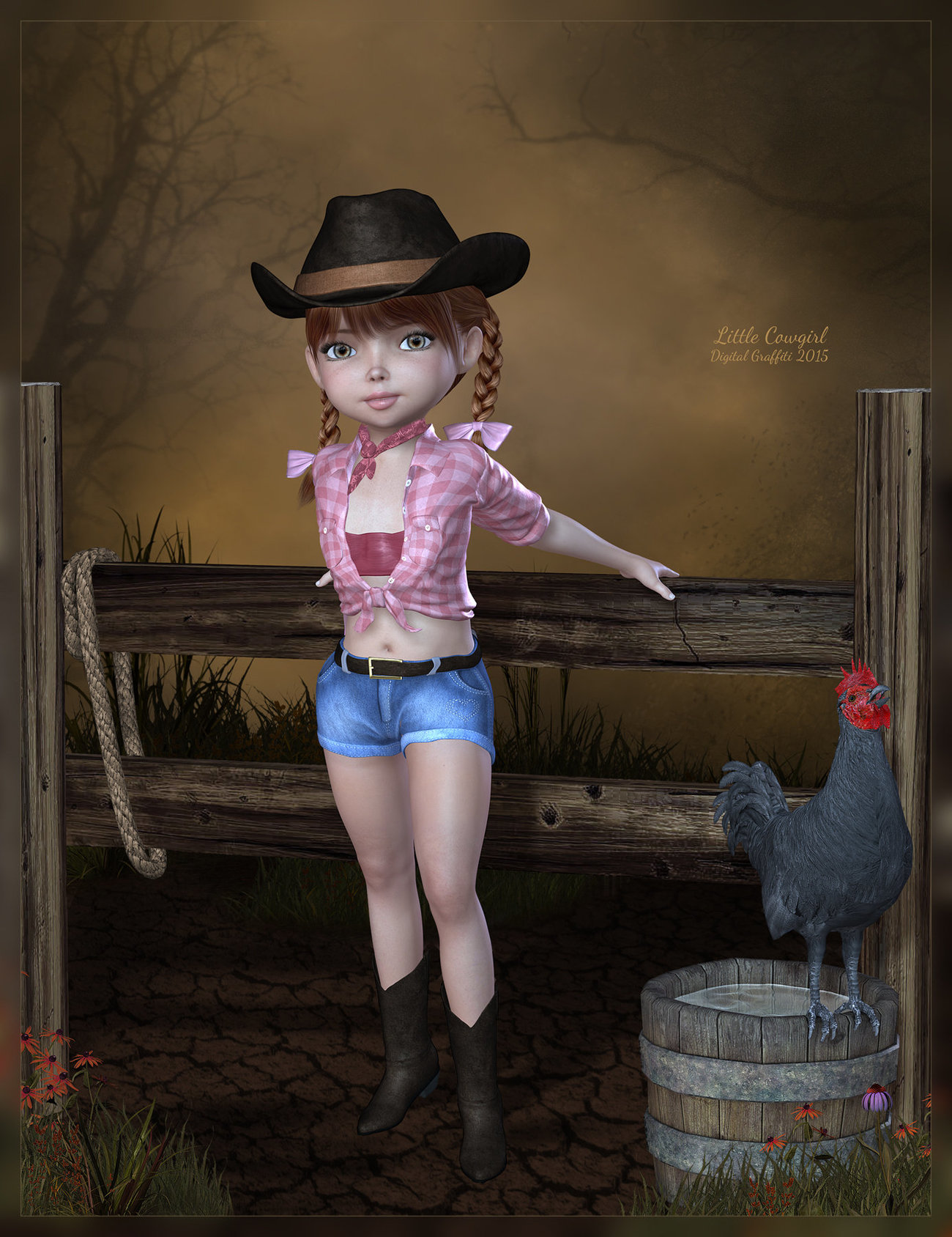 Little Cowgirl by lulu18