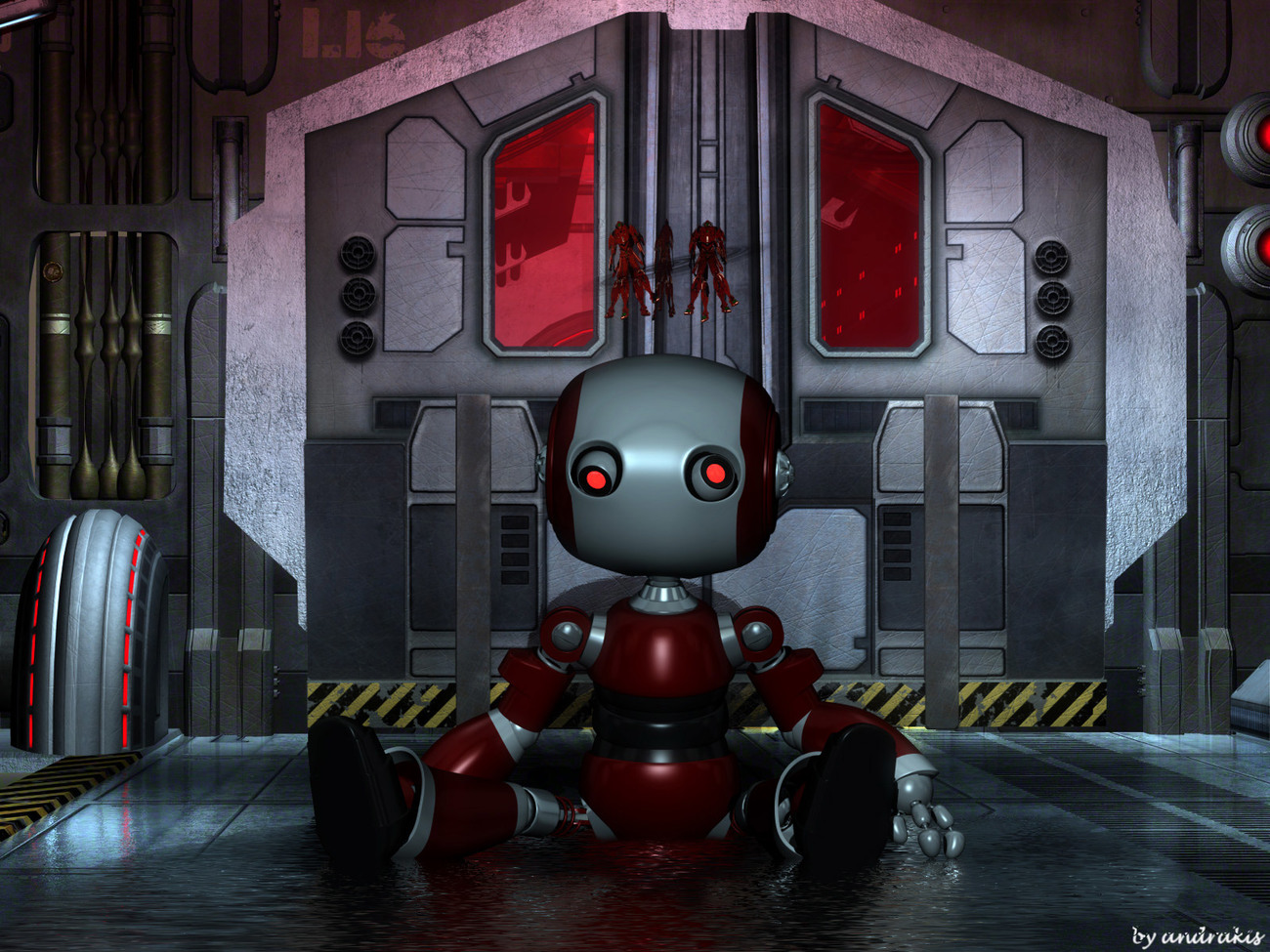 Robot by andrakis
