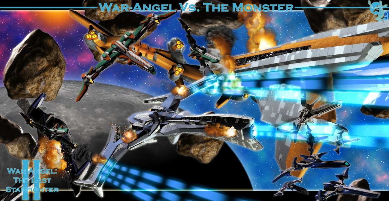 War Angel Vs. The Monster Version 2