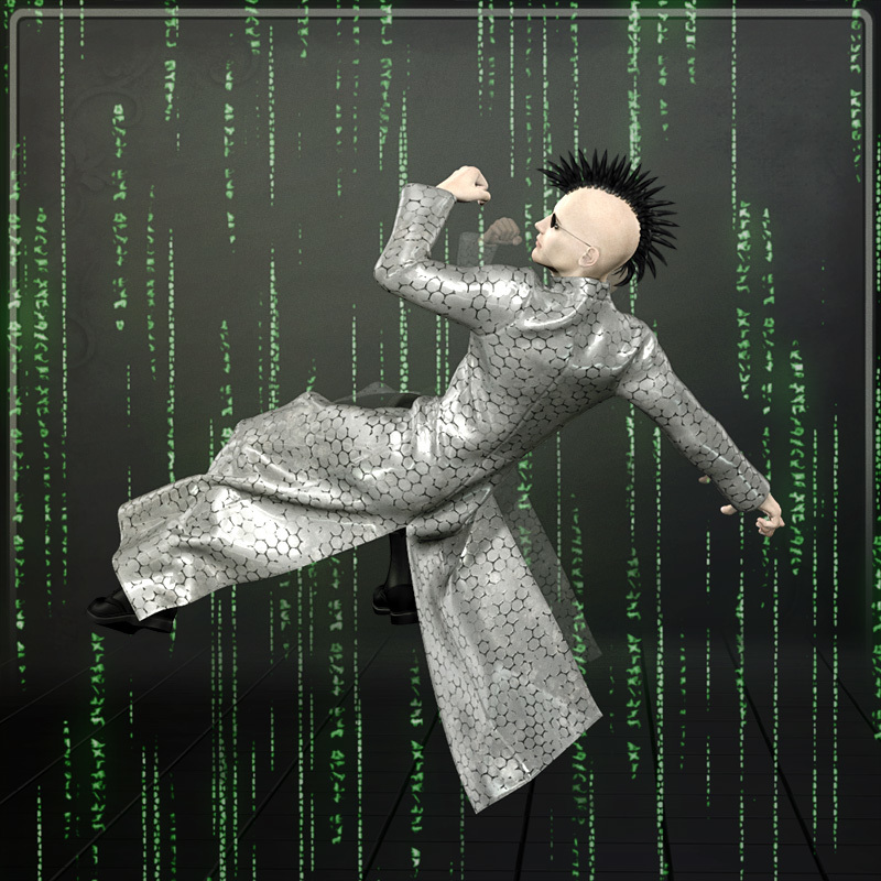 Dynamic Mainframe Coat by Frequency