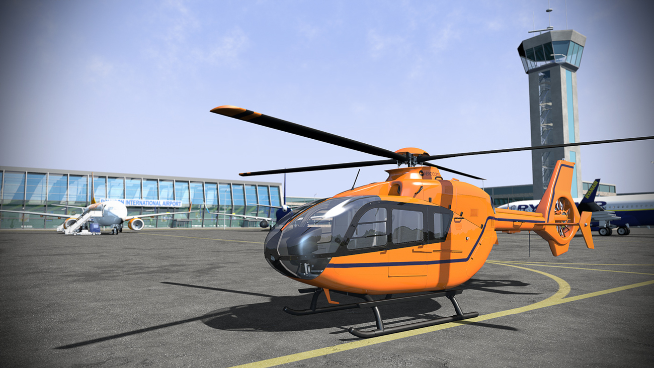 Helicopter Poser model by 2nd_World