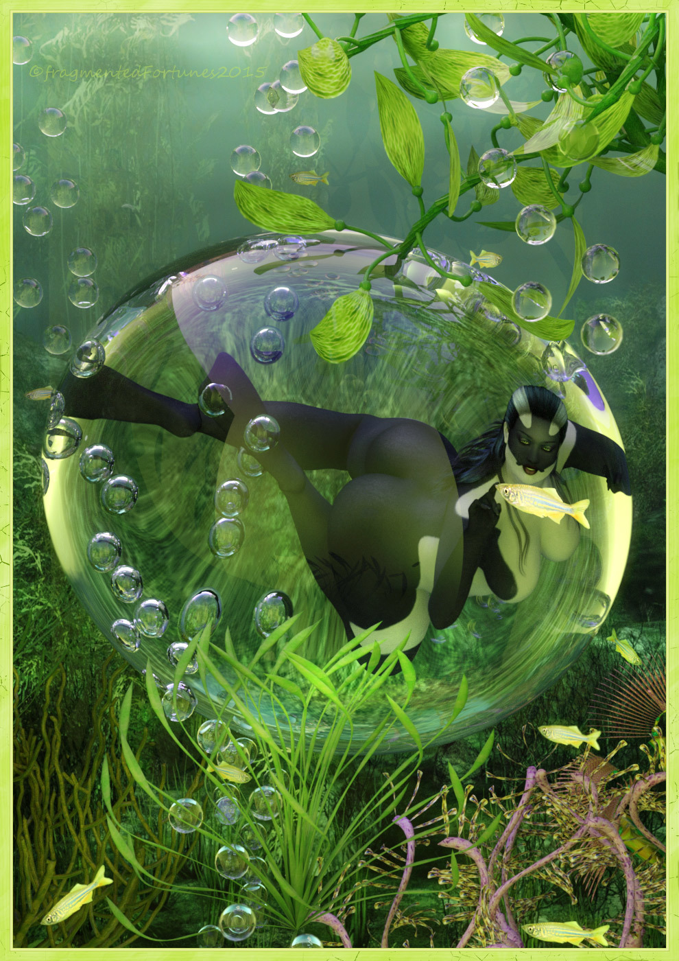Wonders of the sea - Orca Bubble by FragmentedFortunes