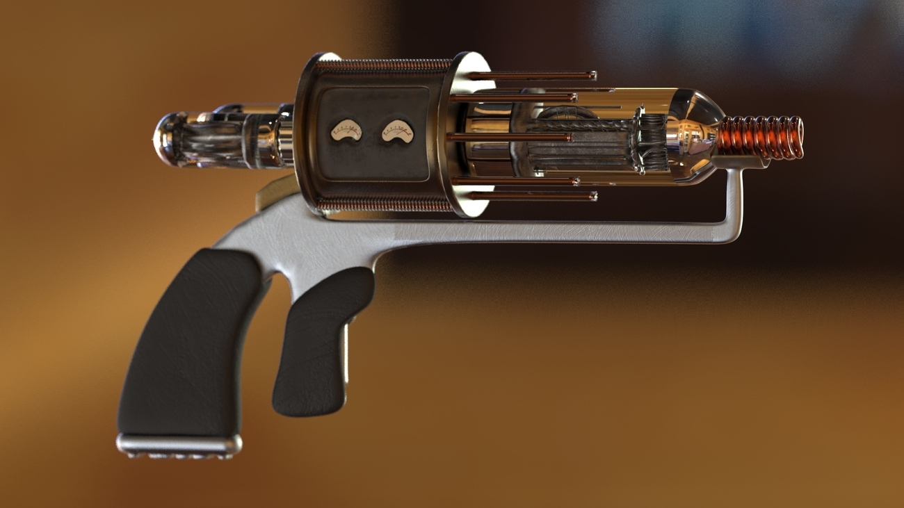 Tesla Gun from Warehouse 13 - The Other Side by Henchmonkey
