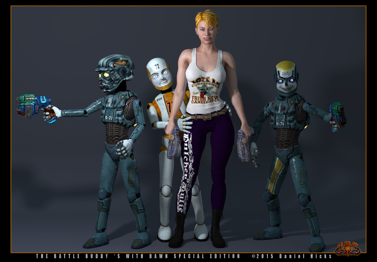Dawn S.E. with Battle Buddy's by 722