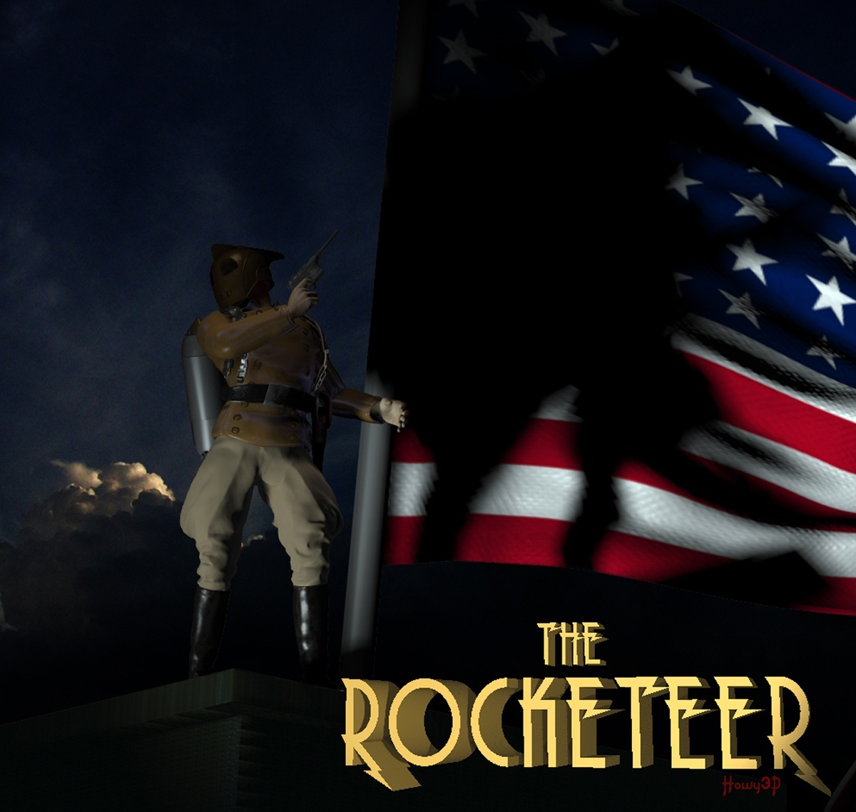 The Rocketeer by Howy2012