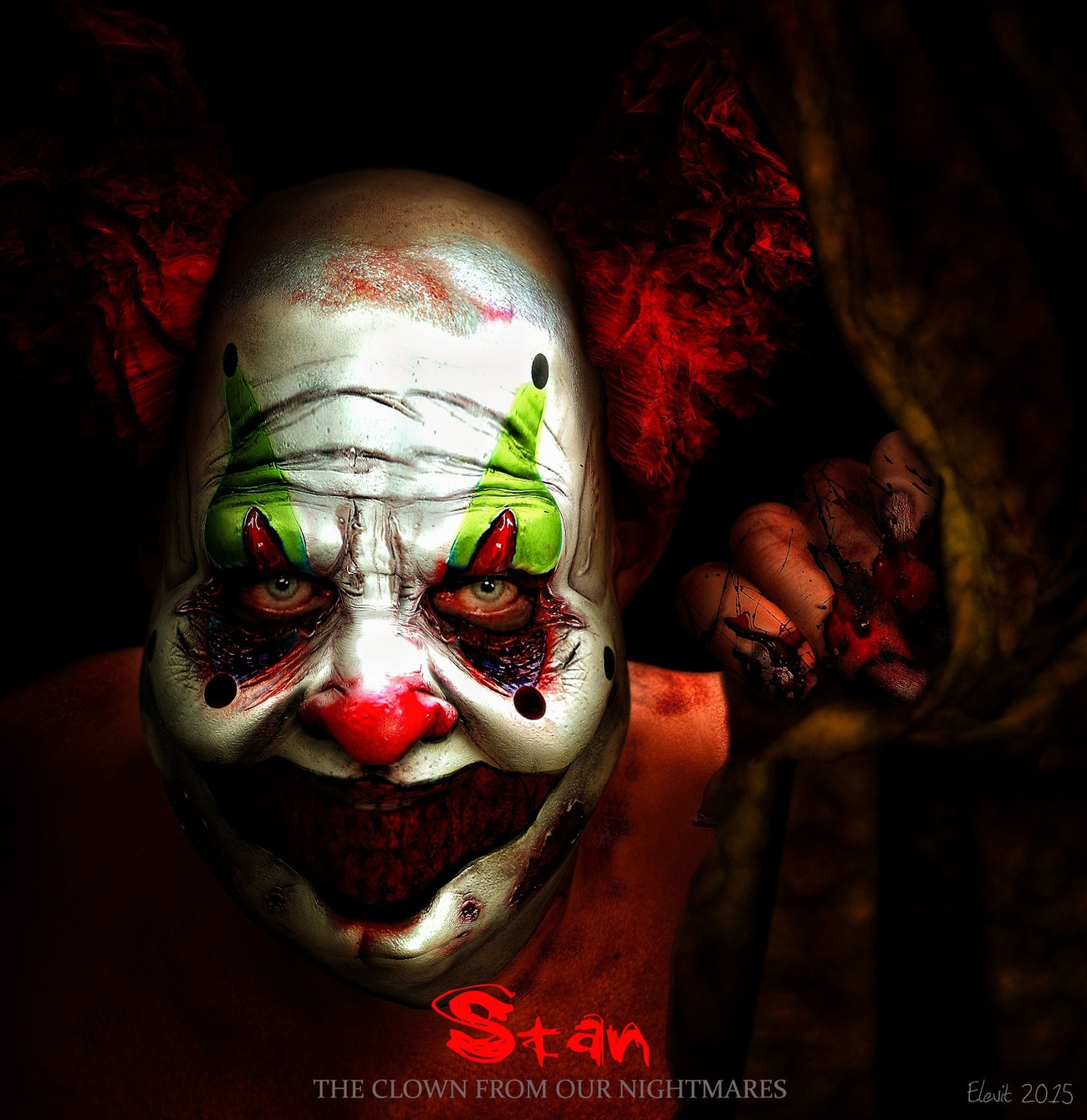 Stan The Clown From Our Nightmares by DimitriAraujo