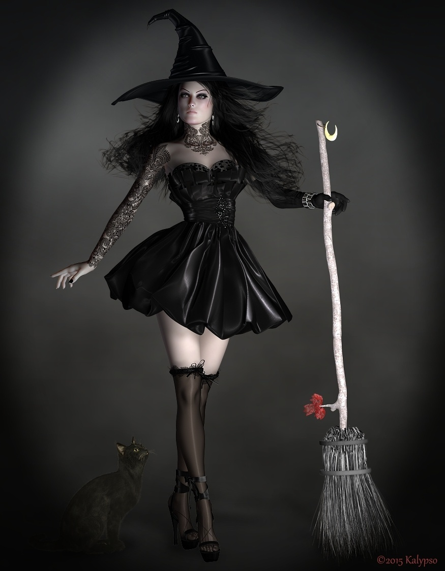 The Fashionable Witch by Kalypso