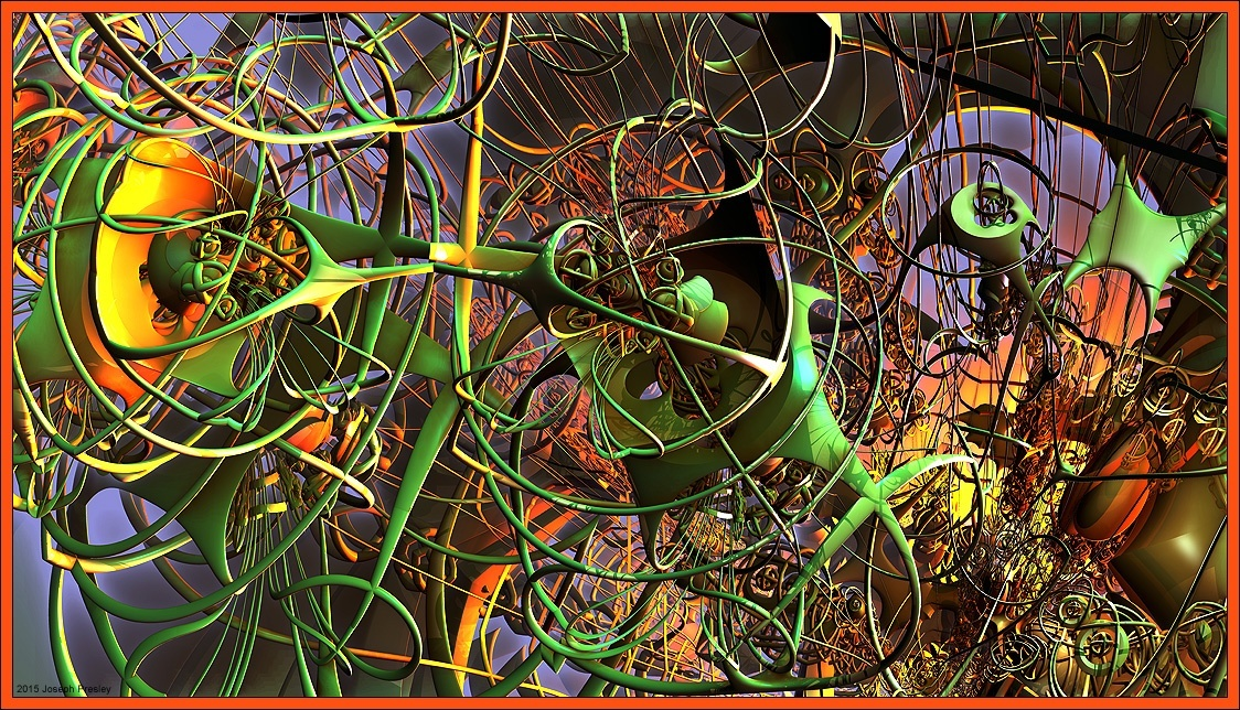Synaptic Excitation by joefraq