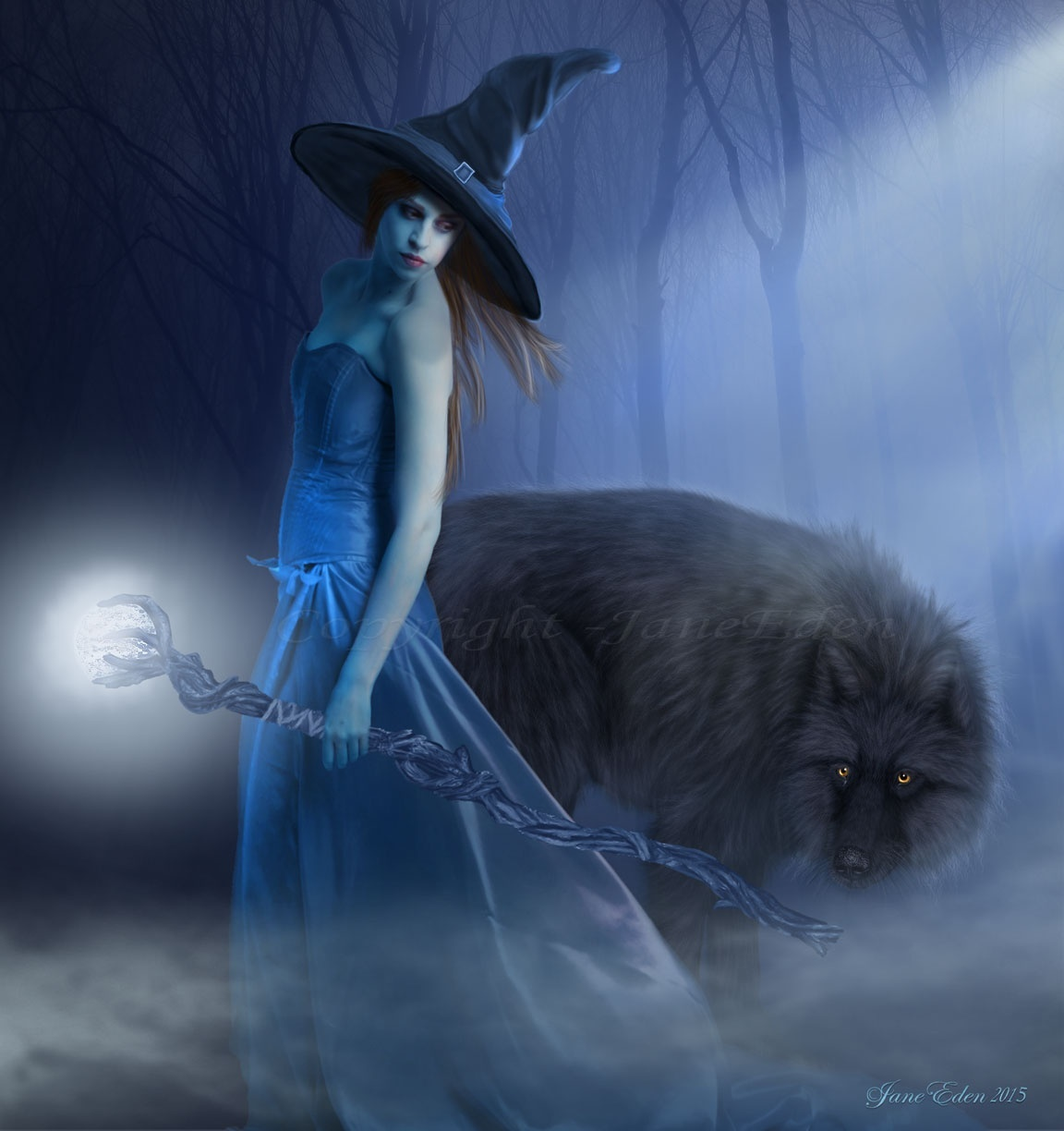 A Witch and her Wolf