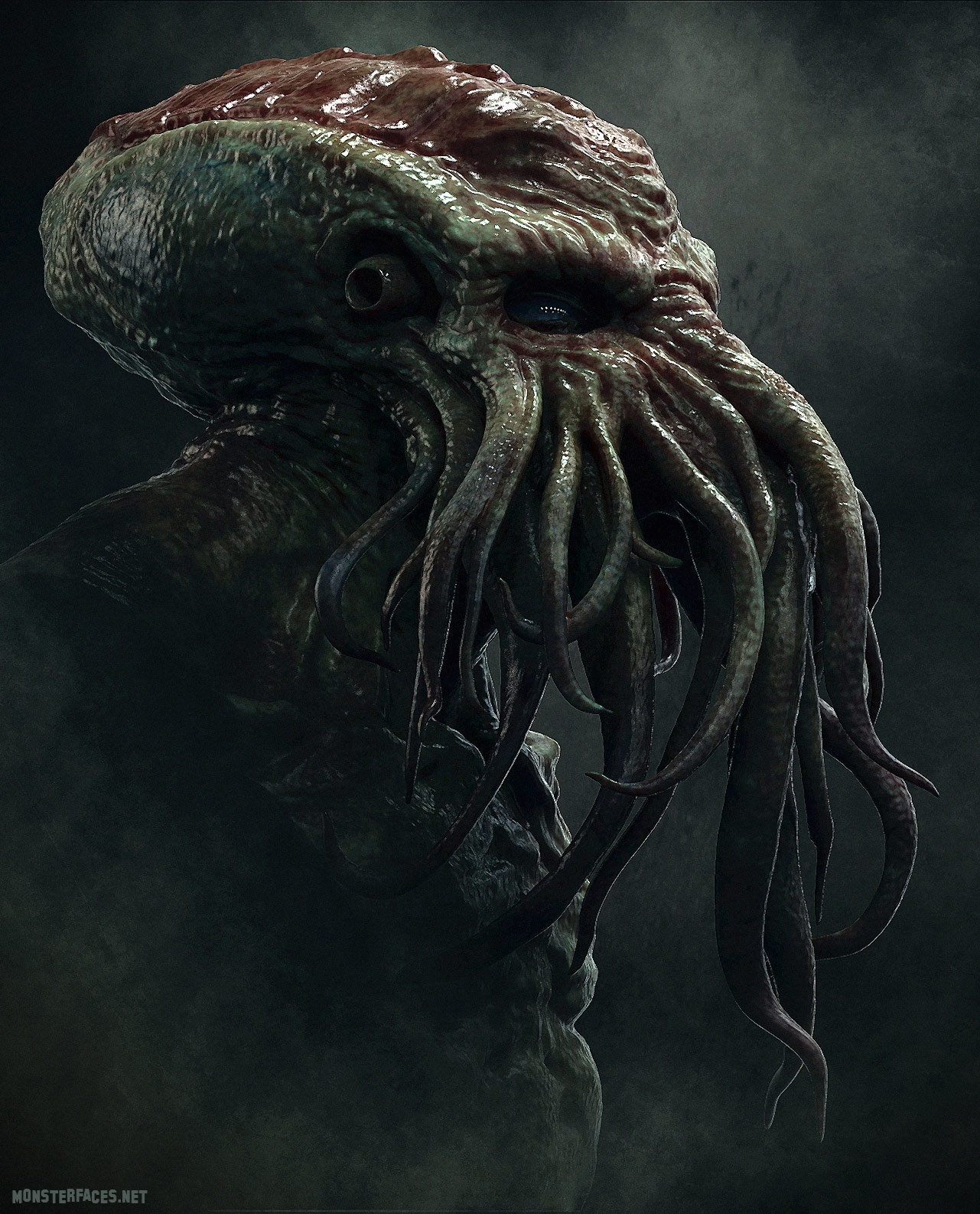 Cthulhu by mrthirdeyeching