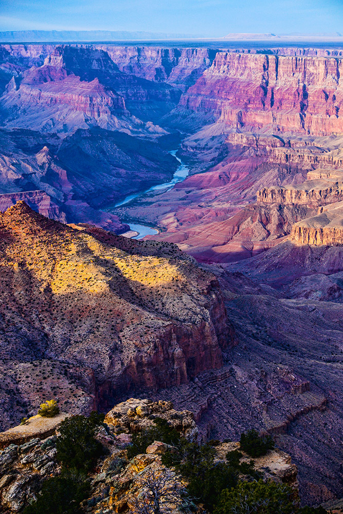 View of the Colorado River from the South Rim by EJD64