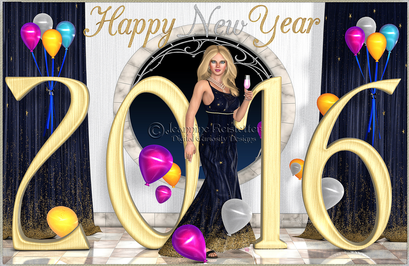 Ring in the New year by Cupcake