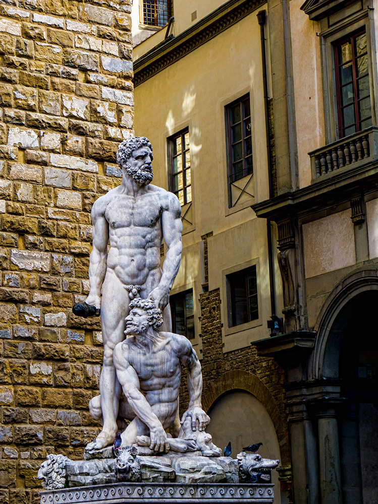 Hercules and Cacus by EJD64