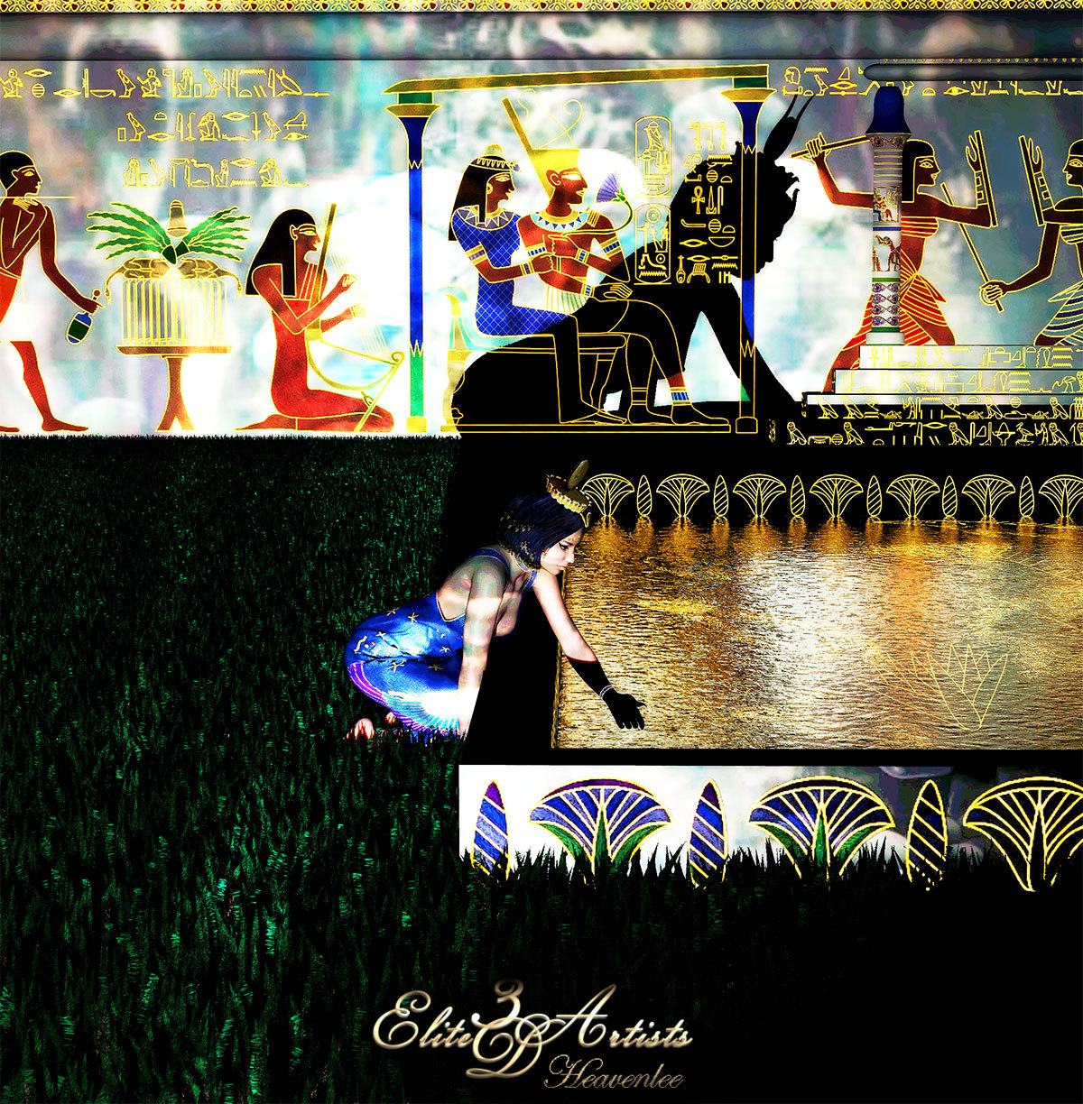 The Pharaohs Garden by Heavenlee