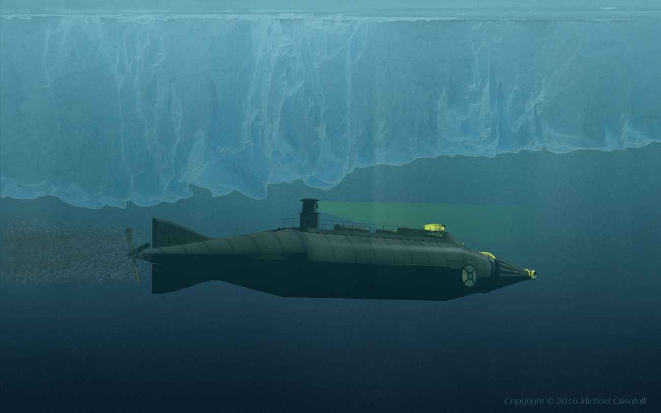 Going under the Ice Shelf by Michael_C