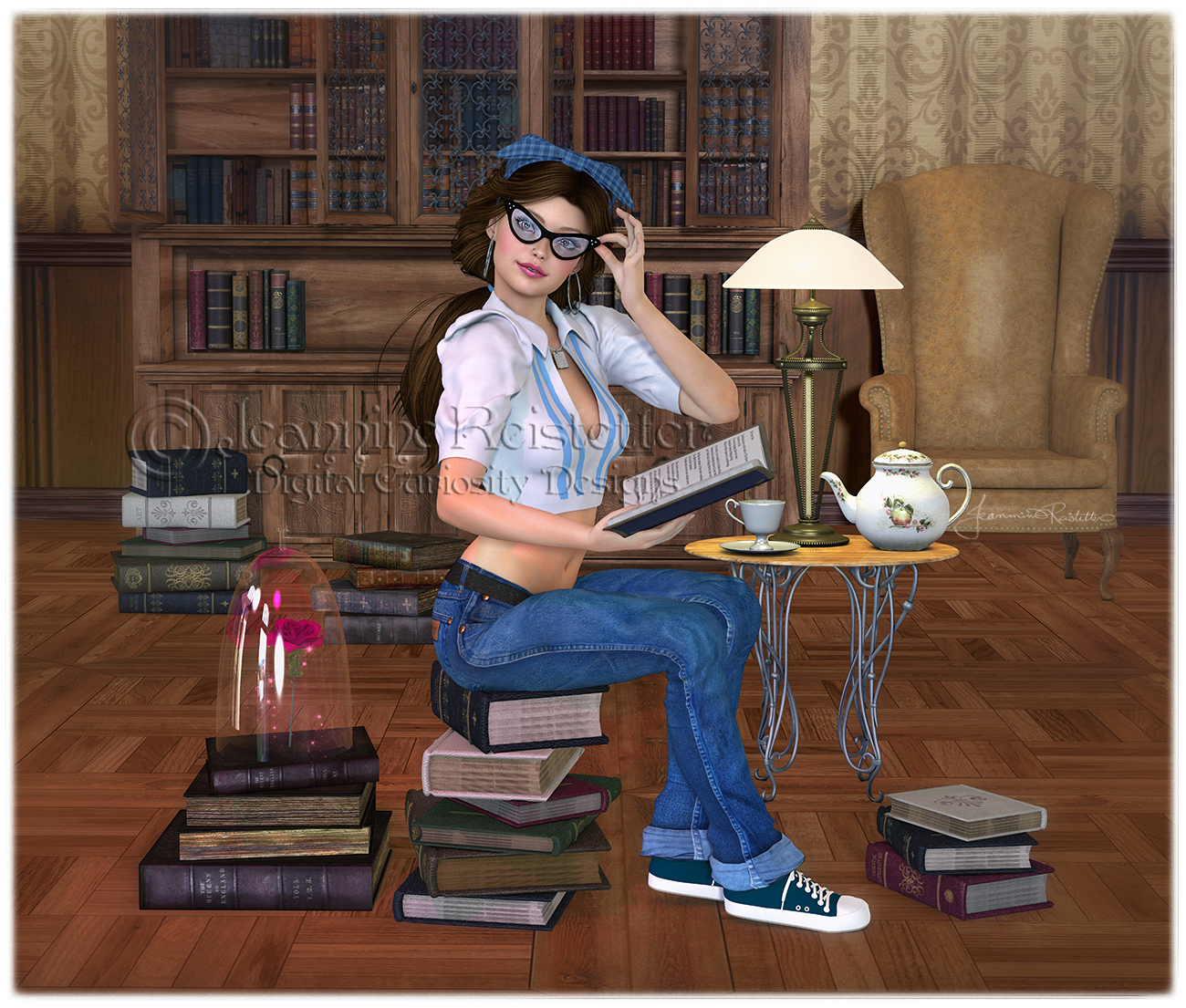 Belle, lost in literature by Cupcake