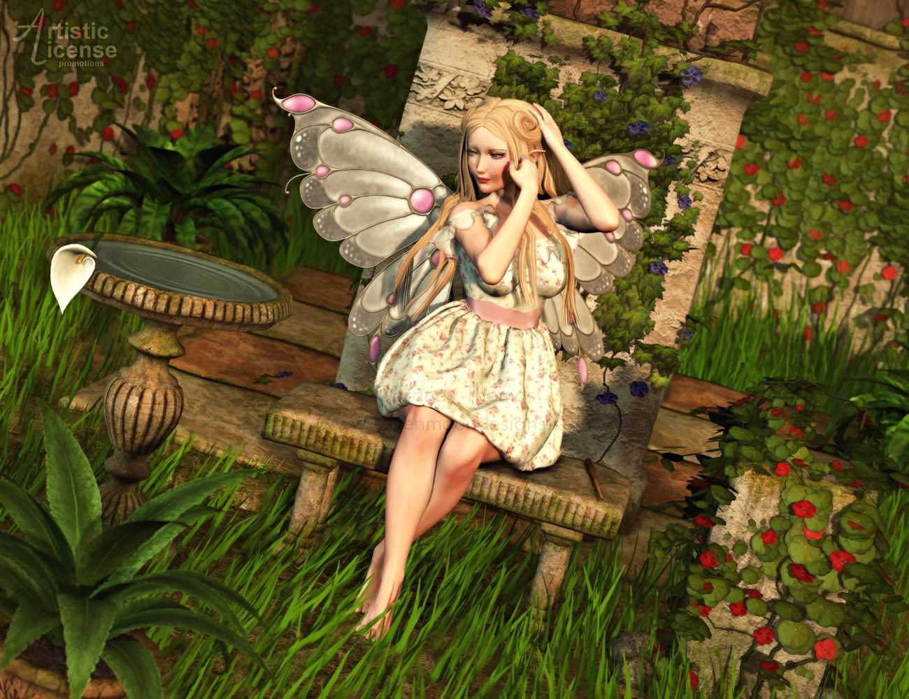 Dynamics 09 - Puffball Dress for Victoria 4 by Lul by Artistic_License