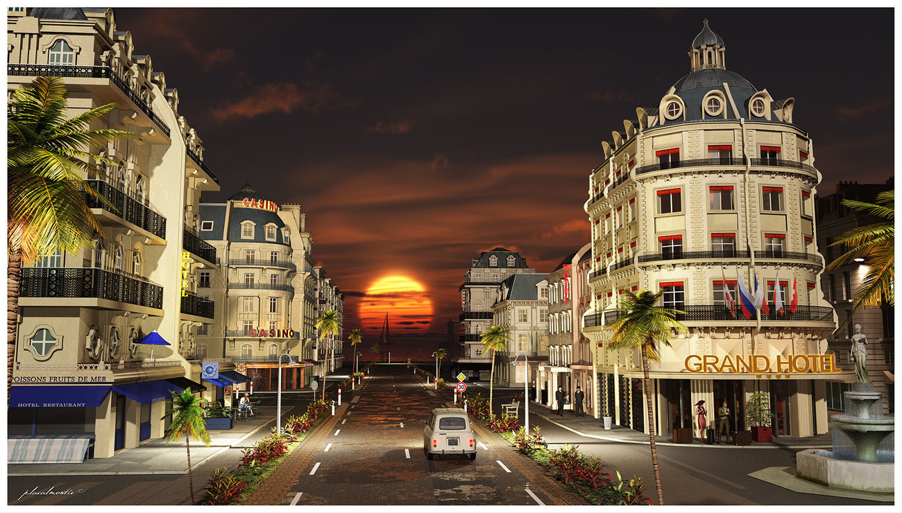 - Grand Hotel - by P-LACALMONTIE