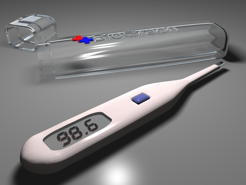 Thermometer with Case by intro