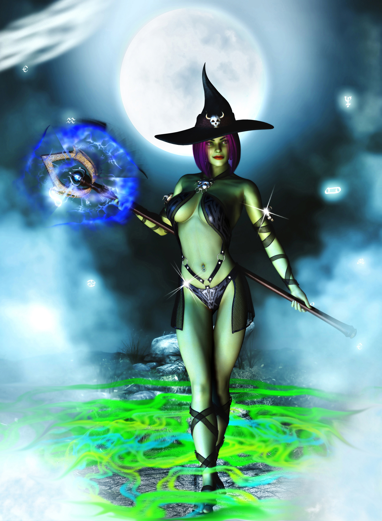 Witchy Woman by blueharvest77