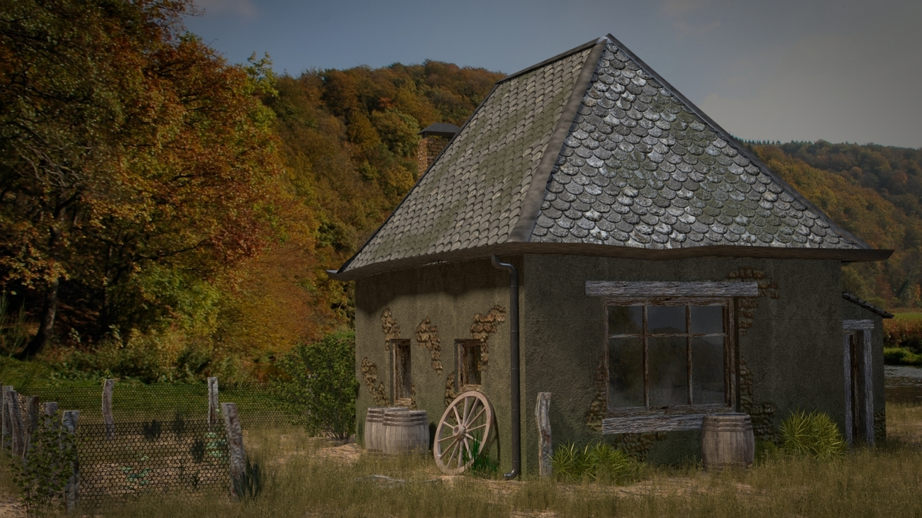 Old house by pchef