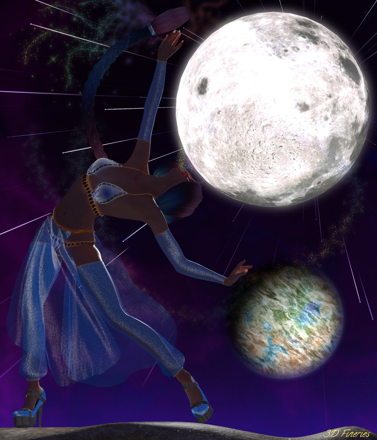 Moon Dancer by 3DFineries